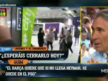 """""""Neymar está más cerca del Barcelona"""": la opinión de 'Lobo' Carrasco sobre la posible vuelta del brasileño"""