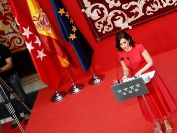 Isabel Díaz Ayusa toma posesión como presidenta de la Comunidad de Madrid