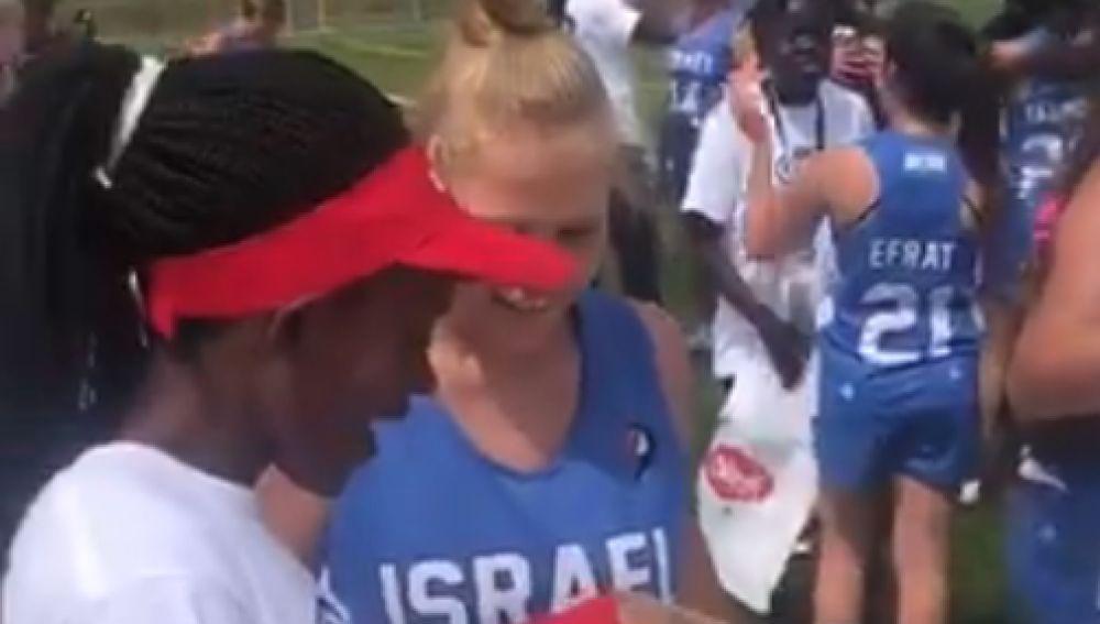 El regalo de las jugadoras israelíes a sus rivales kenianas