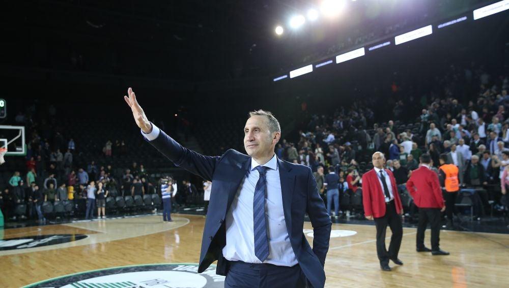 El entrenador de baloncesto David Blatt
