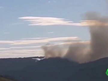 Imagen de un incendio activo
