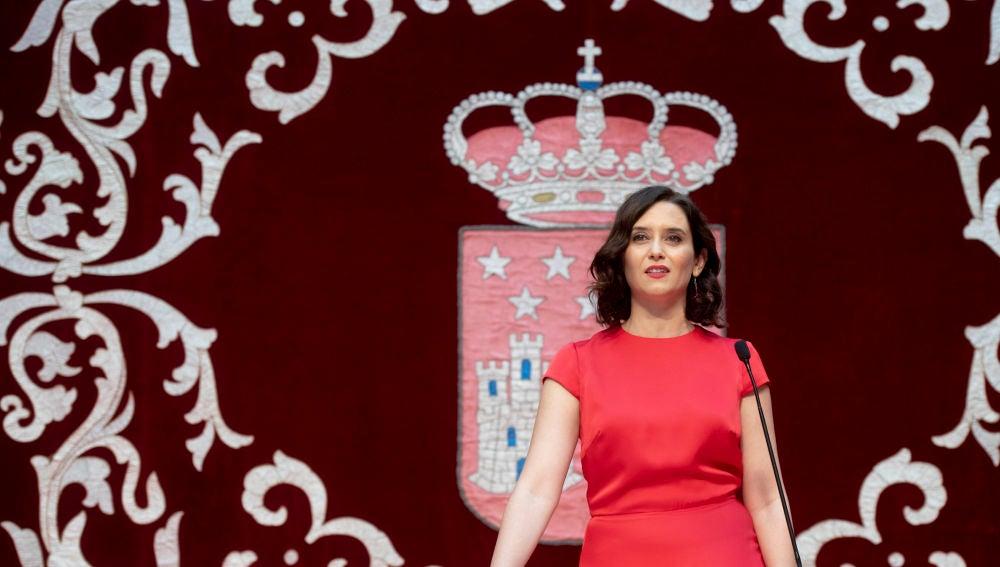 Isabel Díaz Ayuso toma posesión como presidenta de la Comunidad de Madrid