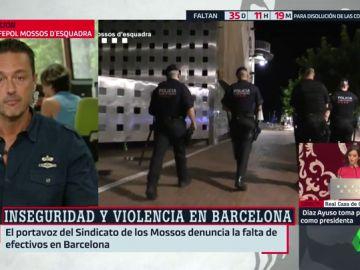 Los Mossos denuncian la falta de recursos para hacer frente a la inseguridad en Barcelona