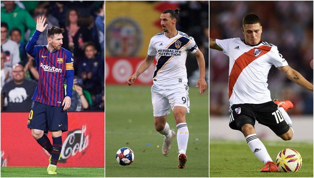 Leo Messi, Zlatan Ibrahimovic y Juan Fernando Quintero, nominados al Premio Puskás