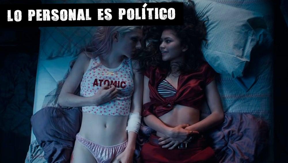 Imagen de la serie de HBO 'Euphoria'