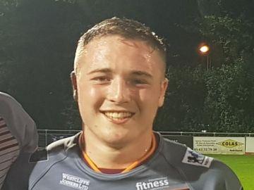 El jugador de rugby Archie Bruce