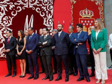 Los consejeros del Gobierno de la Comunidad de Madrid