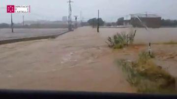Inundaciones por las lluvias en Benicarló