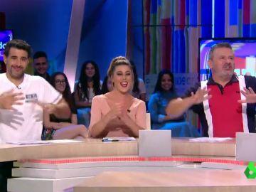 Miki Nadal se pone a prueba bailando al ritmo de la canción infantil 'Baby shark' en Zapeando