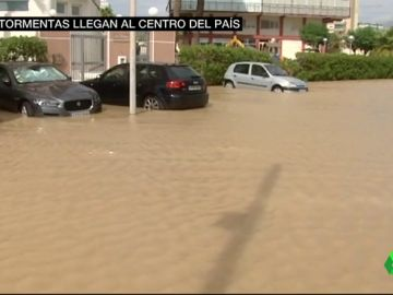 Así se ha despertado Alicante después de la noche del 20 al 21 de agosto.