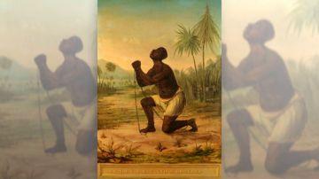 No a la esclavitud: historia del primer cuadro utilizado como imagen de una causa política