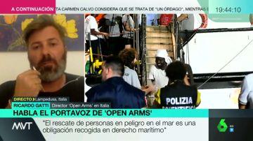 """Open Arms responde a Carmen Calvo: """"El rescate de personas es una obligación recogida por el derecho marítimo"""""""