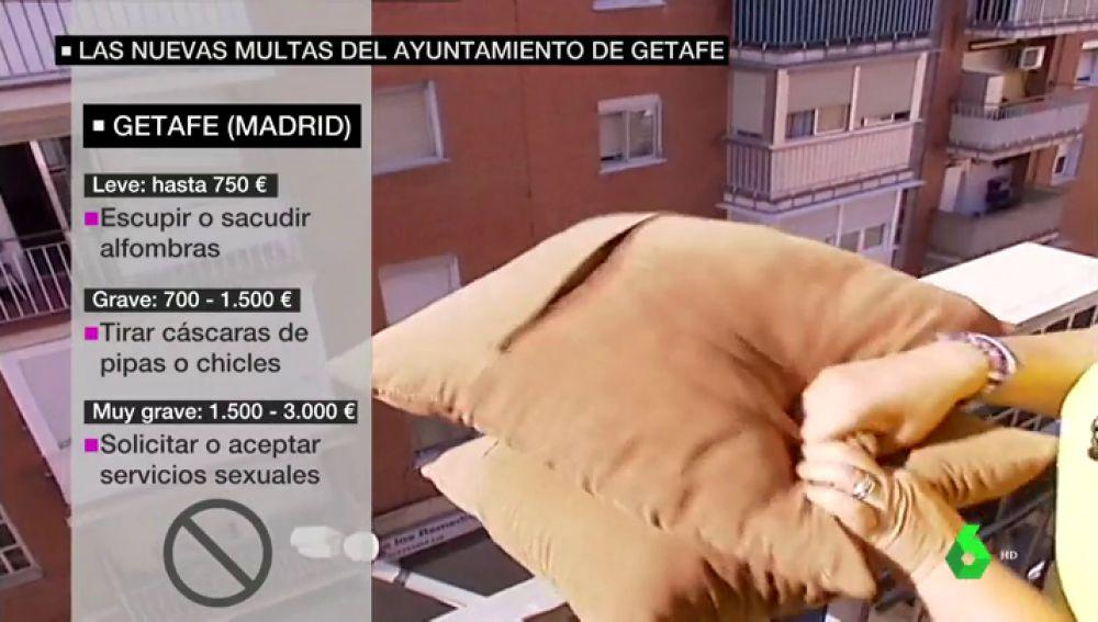 Getafe Aprueba Multas De Más De 700 Euros Por Sacudir Manteles O Alfombras Por La Ventana