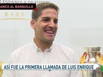 """Robert Moreno: """"Cuando Luis Enrique me llamó en 2012 trabajaba en 'La Caixa'"""