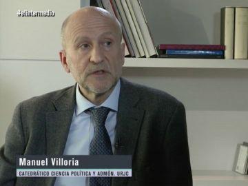 Así evidenció Manuel Villoria las repercusiones del 'Caso Cifuentes' en los alumnos