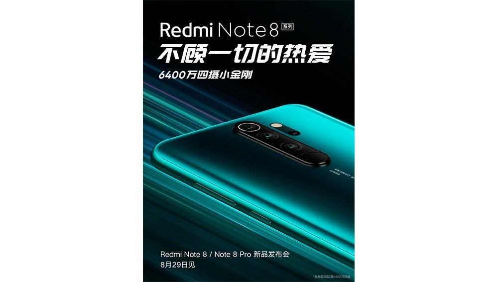 Póster del Redmi Note 8