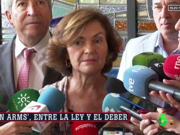 Carmen Calvo, vicepresidenta del Gobierno en funciones