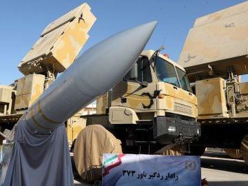 El nuevo sistema de defensa aérea iraní.