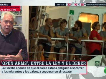 """El abogado del Open Arms contradice a Carmen Calvo: """"No existe el concepto 'permiso para rescatar'. La ONG cumple la legalidad"""""""