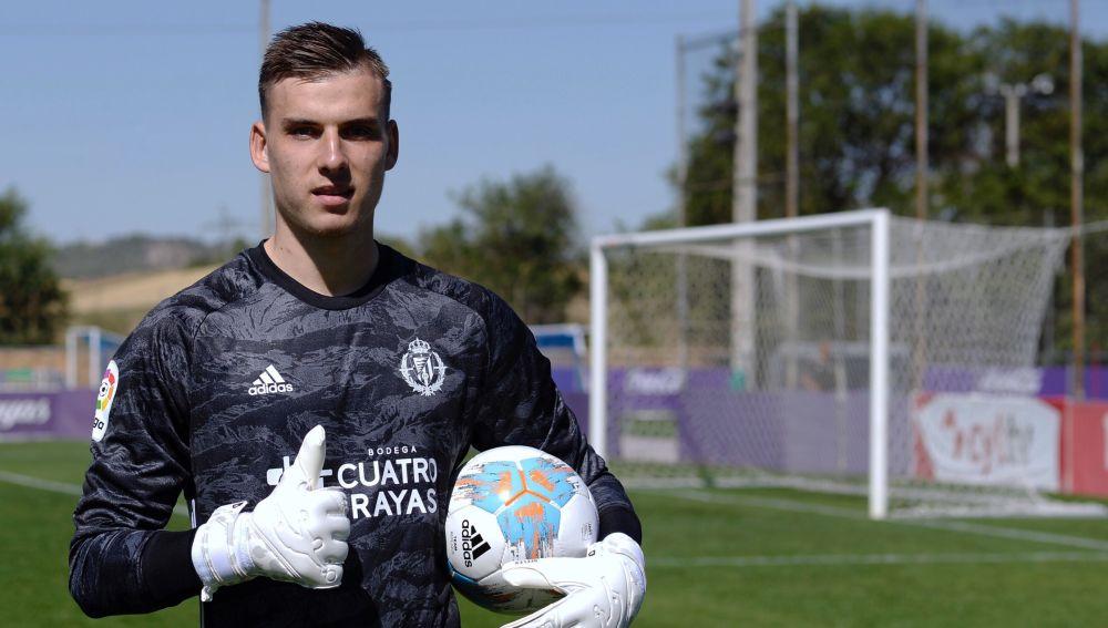 Lunin, cedido en el Valladolid procedente del Real Madrid