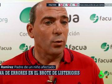 Padre de un niño afectado por listeriosis