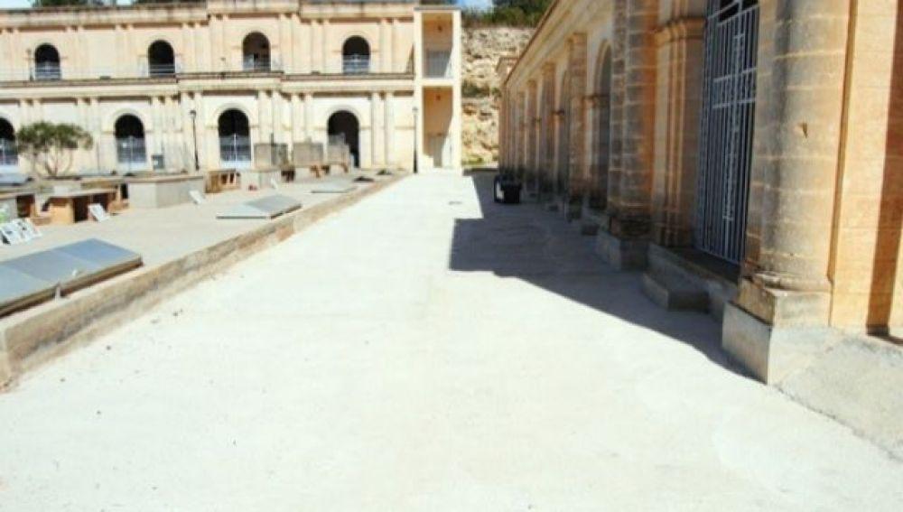 Imagen del cementerio de Manacor, Mallorca