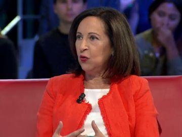 La ministra Margarita Robles analiza en laSexta Noche la crisis del Open Arms y la última oferta de Podemos al PSOE