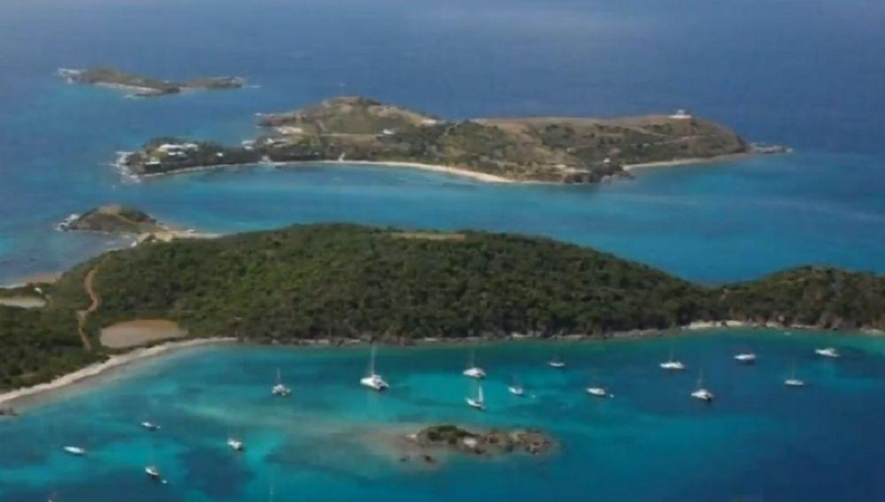 Imagen de las Islas Vírgenes que EEUU compró a Dinamarca