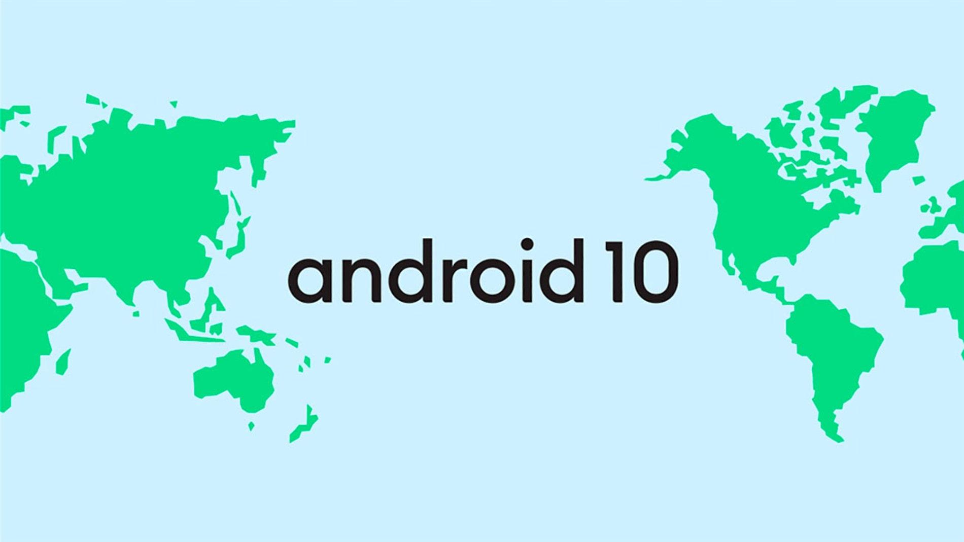Nueva imagen de Android 10
