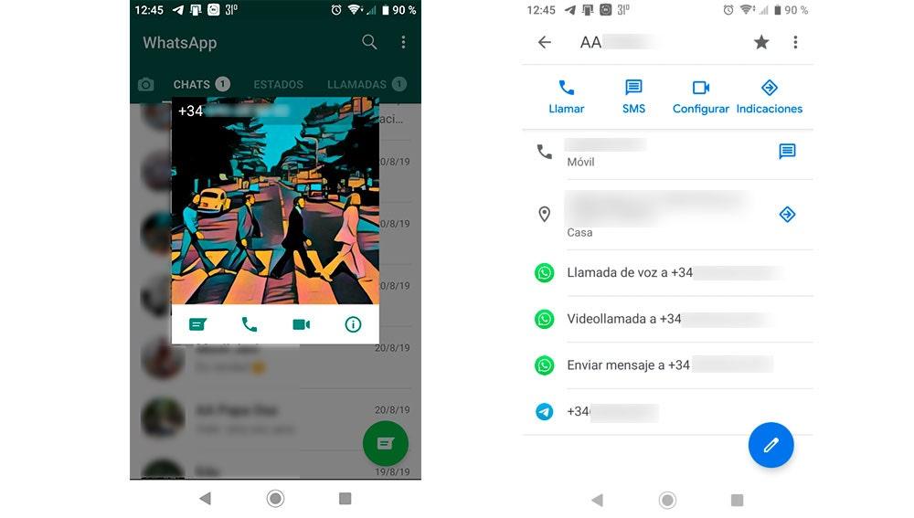 Alternativas para hacer las llamadas en WhatsApp