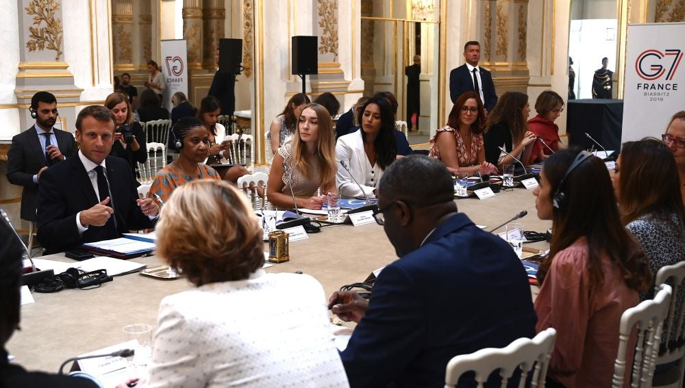 Los líderes se reúnen en la cumbre del G7 en la localidad francesa de Biarritz