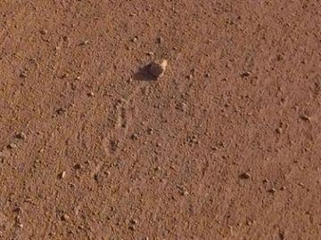 La piedra rodante de Marte dedicada a los Rolling Stones