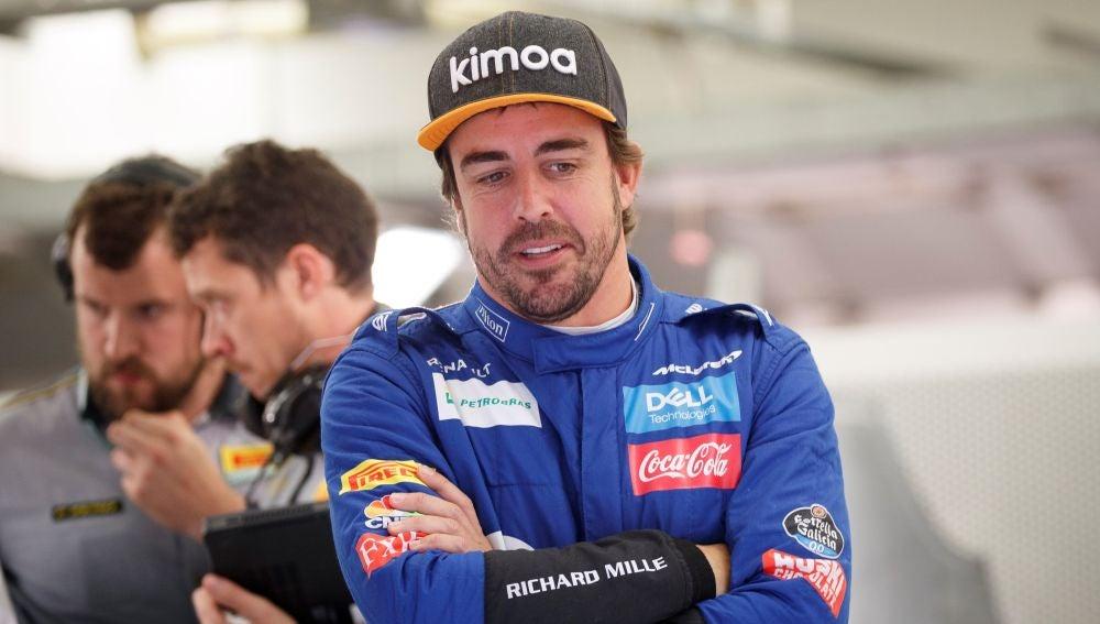 Fernando Alonso, foto de archivo