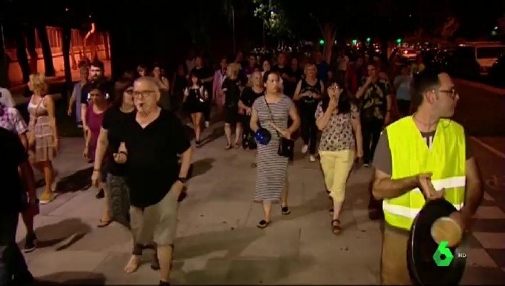 Cacerolada en Barcelona por la inseguridad