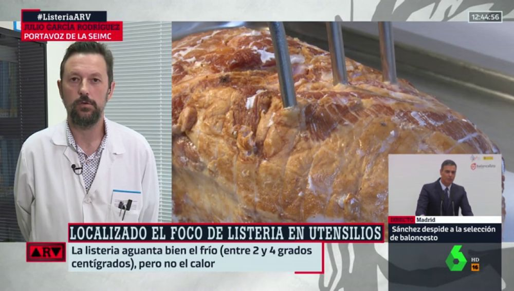 """Julio García Rodríguez. """"La listeriosis no resiste a los hornos, tiene que haber una segunda fuente de contaminación"""""""