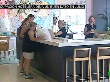 La ocupación hotelera deja buenos datos en julio