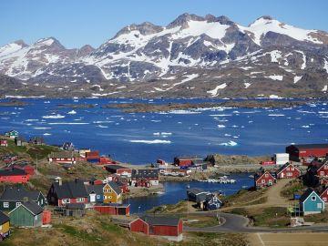 Tasiilaq. Groenlandia