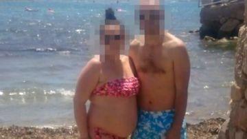 Imagen de la pareja detenida en Albacete por la muerte de sus dos hijos