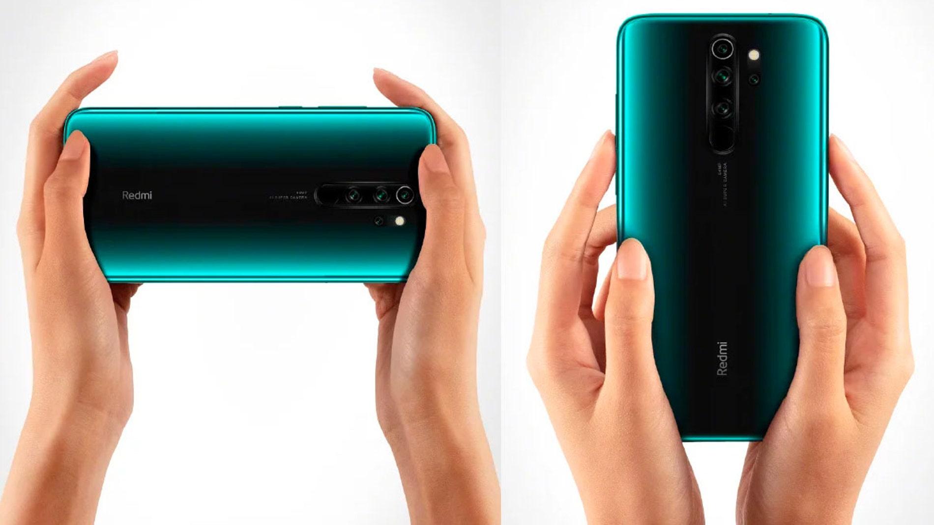 Redmi Note 8 Pro de color verde