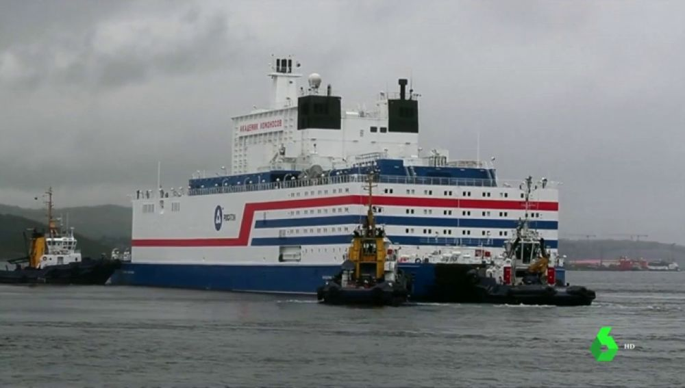 Rusia inaugurará primera planta nuclear flotante en el Ártico