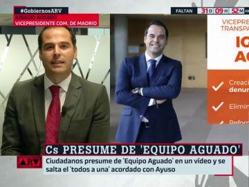 """Ignacio Aguado asegura que hay un gobierno unitario en Madrid con """"una voz coordinada"""""""