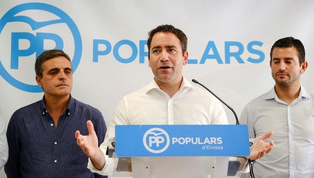 Teodoro García Egea en Ibiza