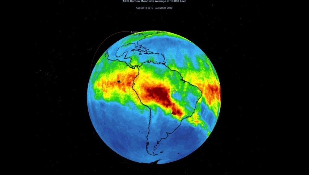 Fotograma de animación cedido por La Administración Nacional de la Aeronáutica y del Espacio (NASA)