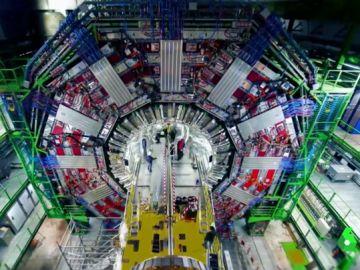 Imagen de un acelerador de partículas