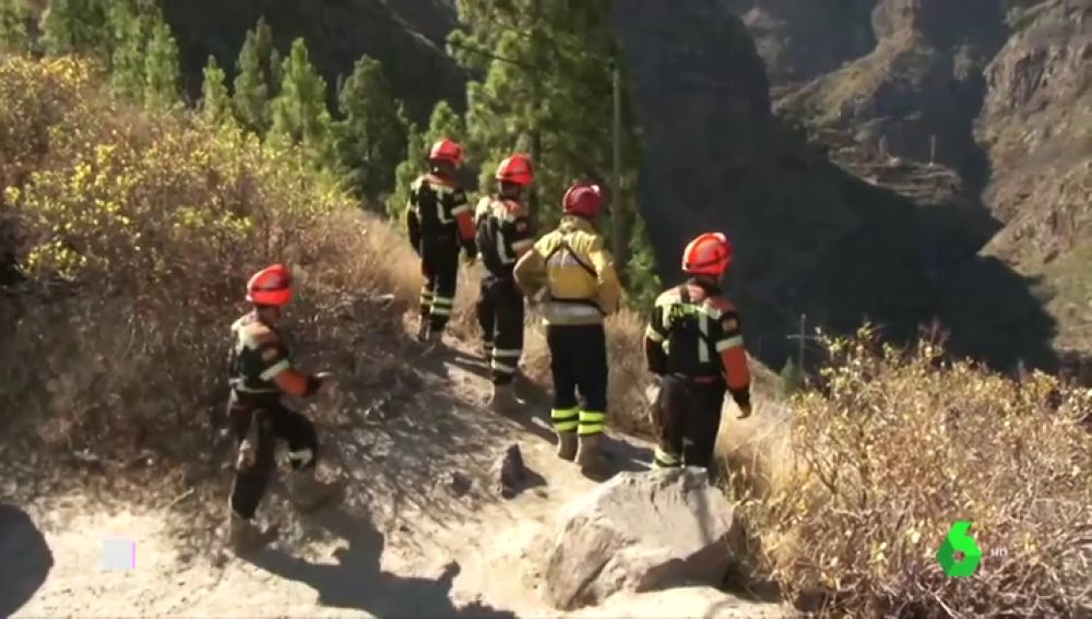 El incendio de Gran Canaria, casi controlado tras quemar 9.200 hectáreas