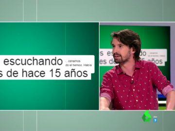 Santi Alverú se estrena como El Defensor del Espectador en Zapeando