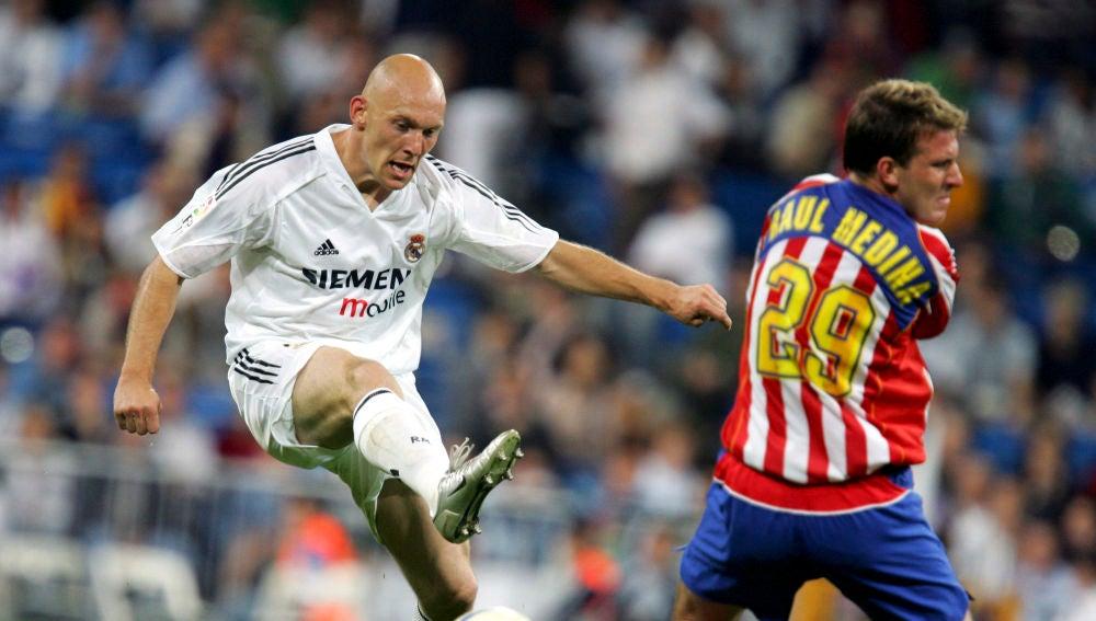 Gravesen desvela que pensó que venía a Madrid…¡para jugar en el Atlético!