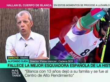 """Alfonso Ojea, sobre la operación de búsqueda de Blanca Fernández Ochoa: """"Ha habido muchas cosas que no me han cuadrado"""""""