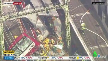 Un camión choca brutalmente contra un tren dejando más de 30 heridos en Japón