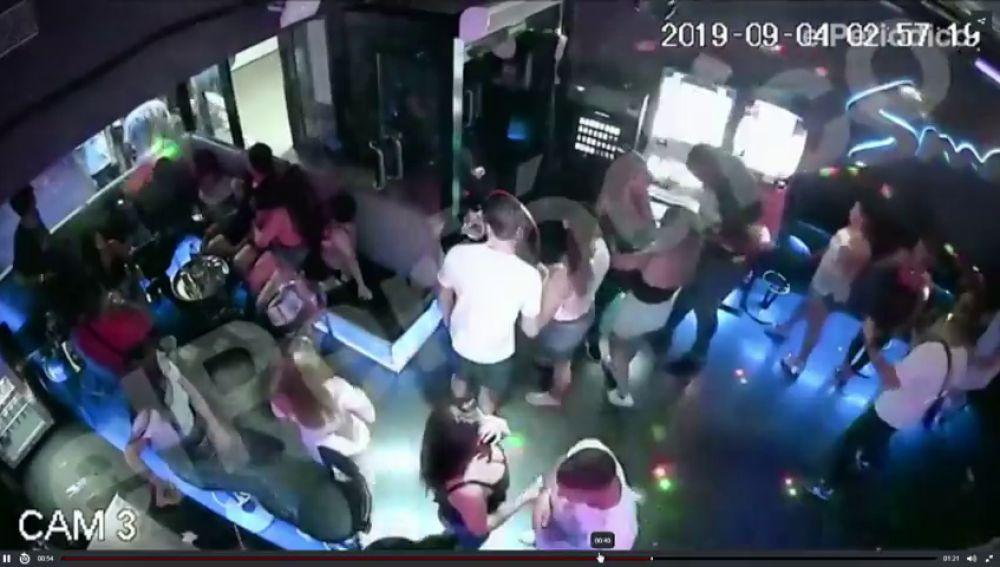 Las imágenes del apuñalamiento mortal en una discoteca del Puerto Olímpico de Barcelona